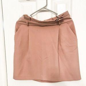 Pink High-waisted Skirt